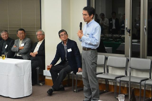 11専攻長挨拶・鹿野田一司教授